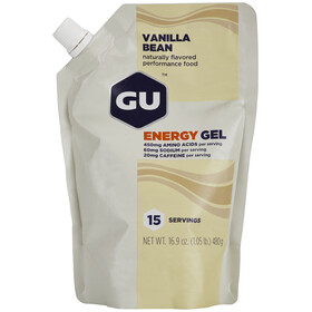 GU Energy Gel Vorratsbeutel Vanilla Bean 480g